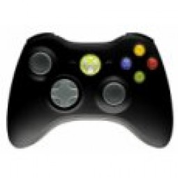 Xbox 360 - Controller Wireless Black Original