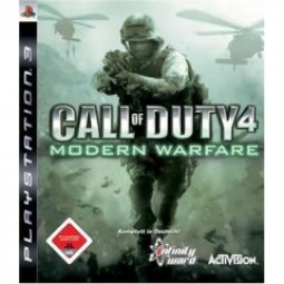 Call of Duty 4- Modern Warfare PS3