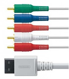 Wii Componenten Cable Original