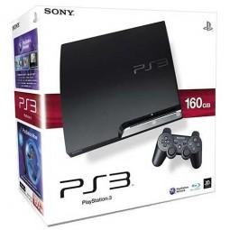 PlayStation 3-Konsole slim inkl. 160 GB Festplatte