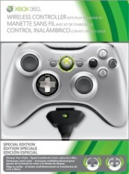 Wireless Silver Controller+Play&Charge Kit X360