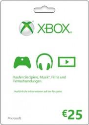 Xbox Live - 25 EUR Guthaben