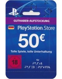 PSN Network Cards 50 Euro