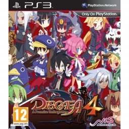 Disgaea 4 A Promise Unforgotten Game PS3