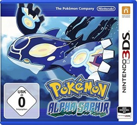 Pokemon Alpha Saphir N3DS