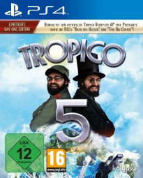 Tropico 5 Day One Edition PS4