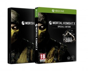 Mortal Kombat X XBoxOne Special Edition inkl. Steelcase