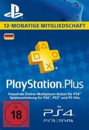 PSN Plus Mitgliedschaft 12 Monate