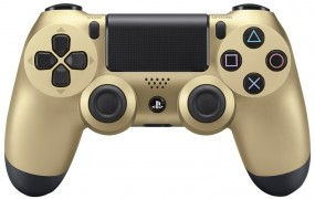 DualShock 4 Controller gold