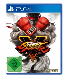 Street Fighter V STEELBOOK Edition PS4