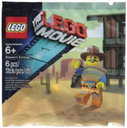 LEGO The Movie Western Emmet Exklusiv Figur